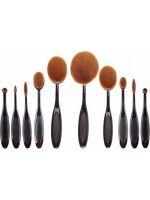 Σετ Πινέλα Μακιγιάζ 10 Τεμαχίων Oval Brush