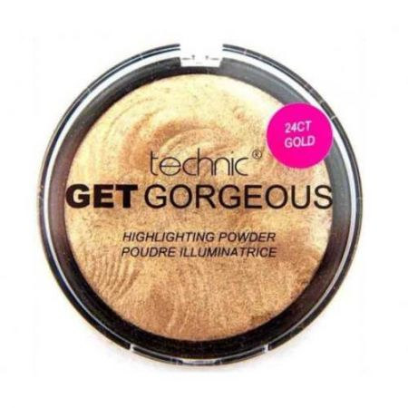 Technic Get Gorgeous Highlighting Powder 24CT Gold