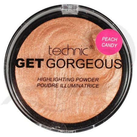 Technic Get Gorgeous Highlighting Powder Peach Candy
