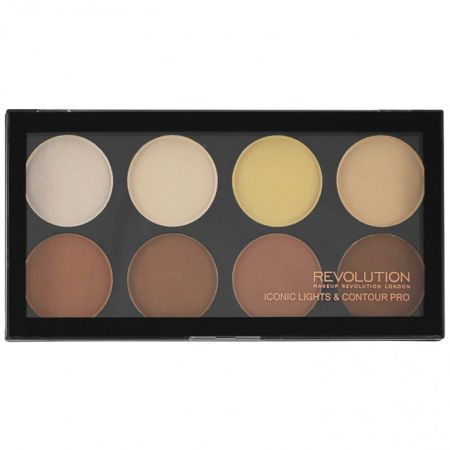 Makeup Revolution Iconic Lights & Contour Pro Palette